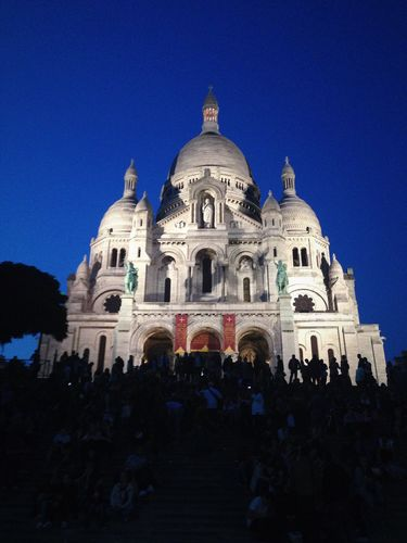 Sacré-Cœur at Night
