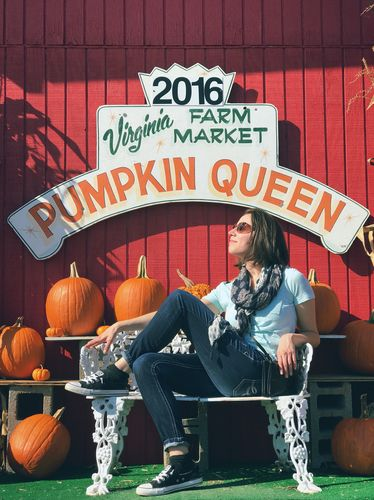 Your 2016 Virginia Farm Market Pumpkin Queen, ladies and gentlemen.