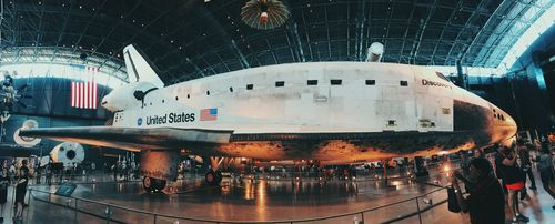 Space Shuttle Discovery Panorama