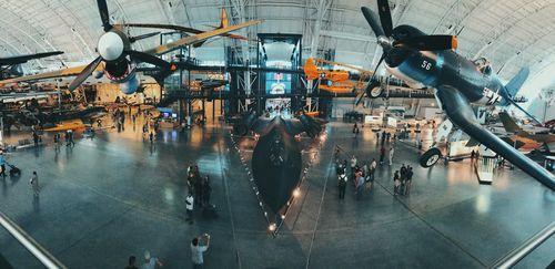 Udvar-Hazy Center Panorama