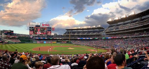 At Nationals Park