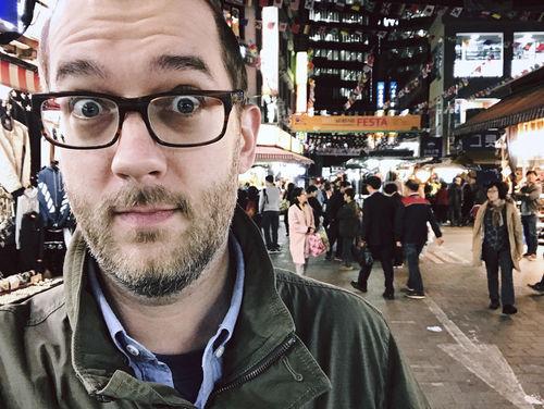 Street Market Selfie