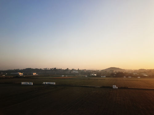 The Korean Countryside at Sunrise