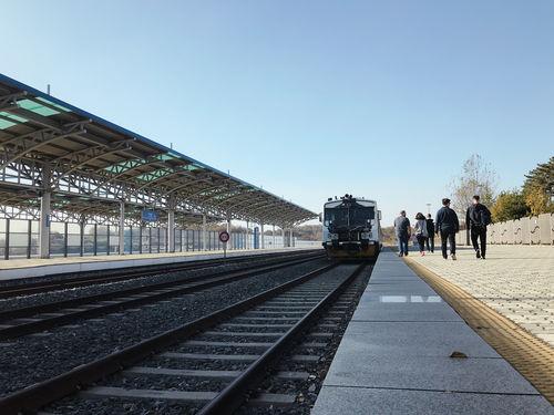 Dorasan Station Platform