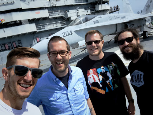 The Gang Visits The USS Yorktown