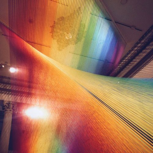 Gabriel Dawe's contribution to WONDER at The Renwick Gallery