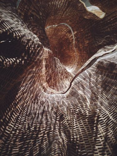 """""""Middle Fork,"""" John Grade's piece at WONDER at The Renwick Gallery"""