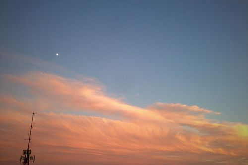 A Particularly Beautiful Sunset/Moonrise